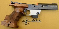 Pistola Benelli mod. MP90S World Cup cal. 22LR